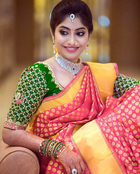 Latest Sarees For Your Impeccable Wedding Reception Look Latest
